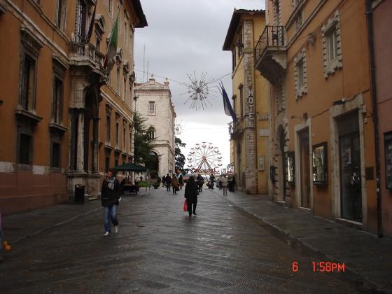 Photo:ペルージャの街並み