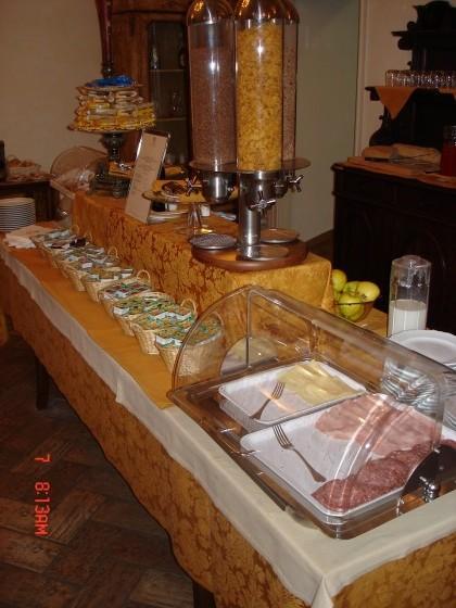 Photo:ホテルの朝食