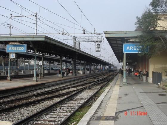 Photo:アレッツォ駅