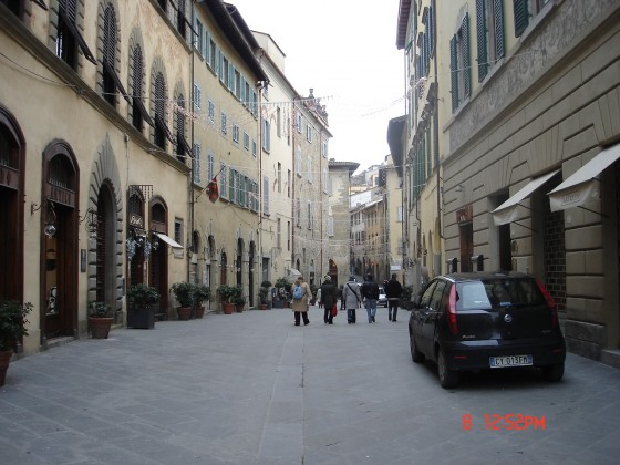 Photo:アレッツォの街並み