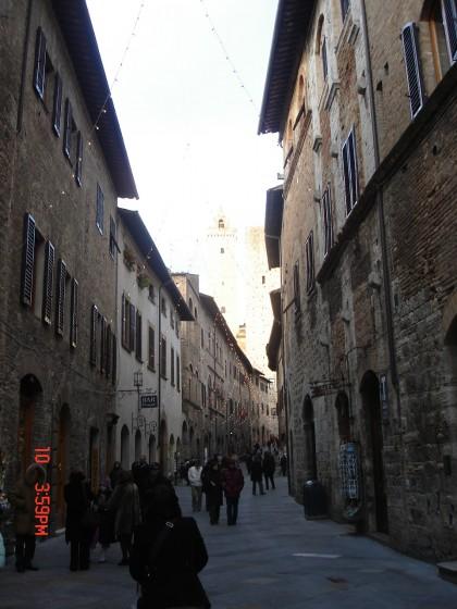 Photo:サン・ジミニャーノの街並み