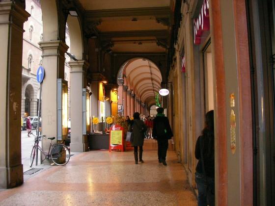 Photo:ボローニャの通り
