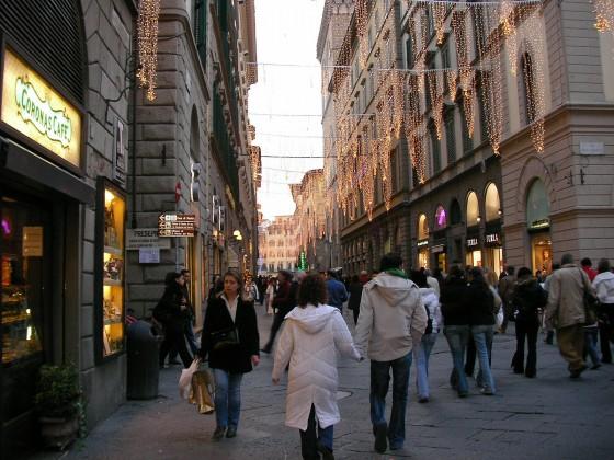 Photo:フィレンツェの通り
