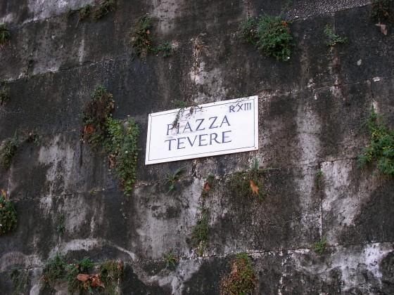 Photo:PIAZZA TEVERE