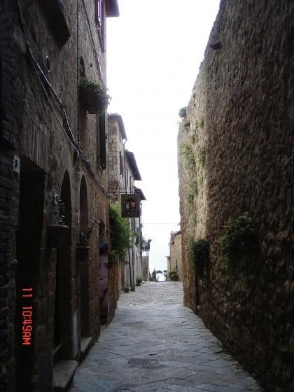 Photo:ピエンツァの路地